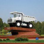 Памятник БелАЗ