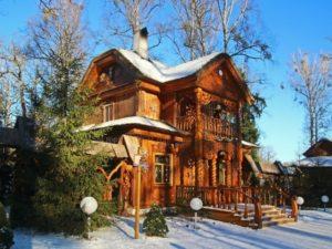 Беловежская пуща, дом Деда Мороза