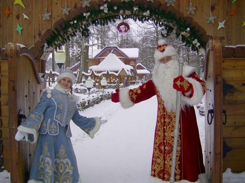 Белорусские Дед Мороз и Снегурочка