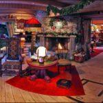 Дом Деда мороза в Пуще внутри
