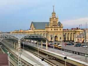 Брестский железнодорожный вокзал, пути