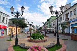 Брест, ул. Советская летом