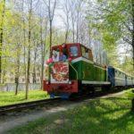 Детская железная дорога фотография 7