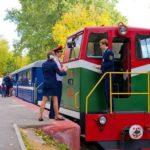 Детская железная дорога фотография 8