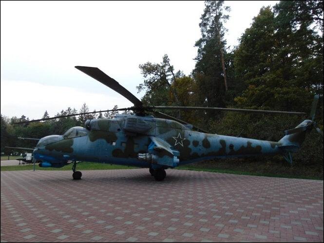 Вертолет, выставка