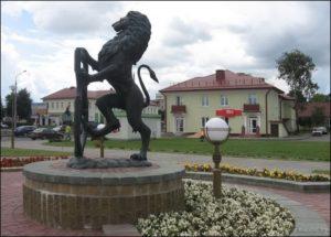 Бронзовый герб города