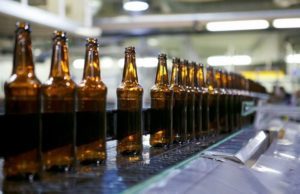 Лидское пиво, пустые бутылки