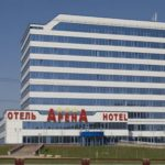 Минск, отель Арена, фасад