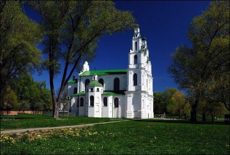 Софийский собор летом