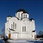 Спасо-Ефросиньевский монастырь зимой
