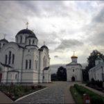 Спасо-ефросиньевский монастырь , общий вид на территорию
