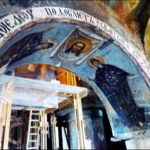 Арка в Спасо-Ефросиньевском монастыре