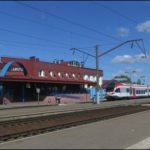 ЖД станция в Заславле