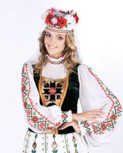 Праздничный женский костюм