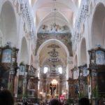 Внутри гродненского костела