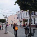 Центральная улица в Гродно