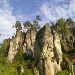 Скалы в Чехии
