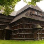Деревянное здание в Польше