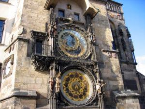 Часы в Чехии