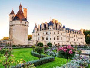 Французская архитектура, днем