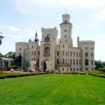 Замок в Чехии днем