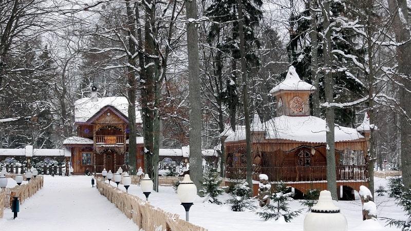 Дед мороз в Пуще