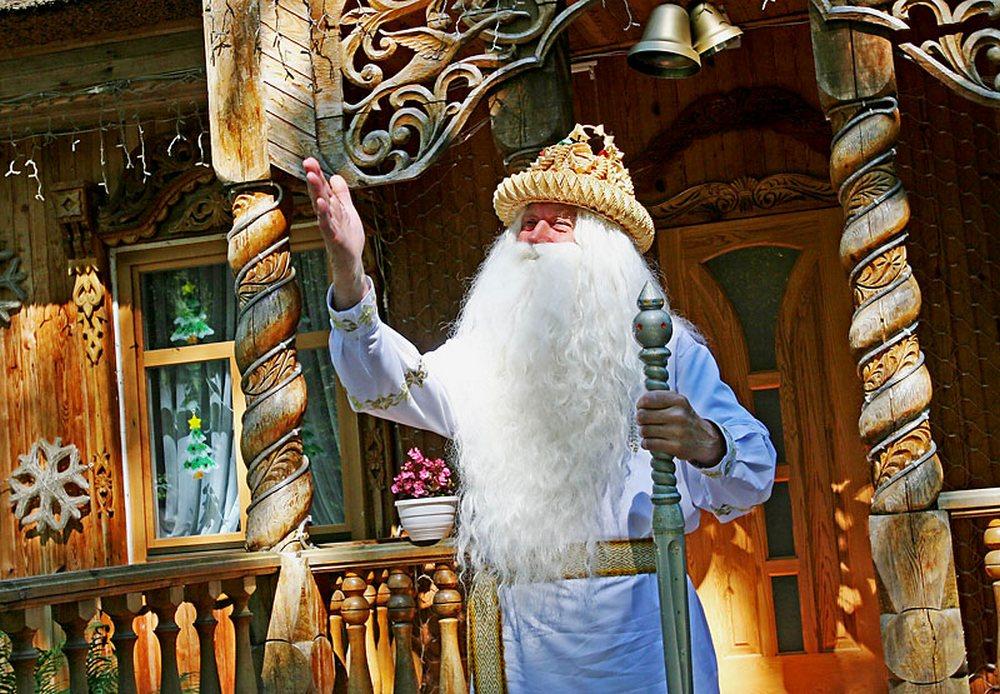 Окунуться в сказку — Дедушка Мороз в Беловежской пуще