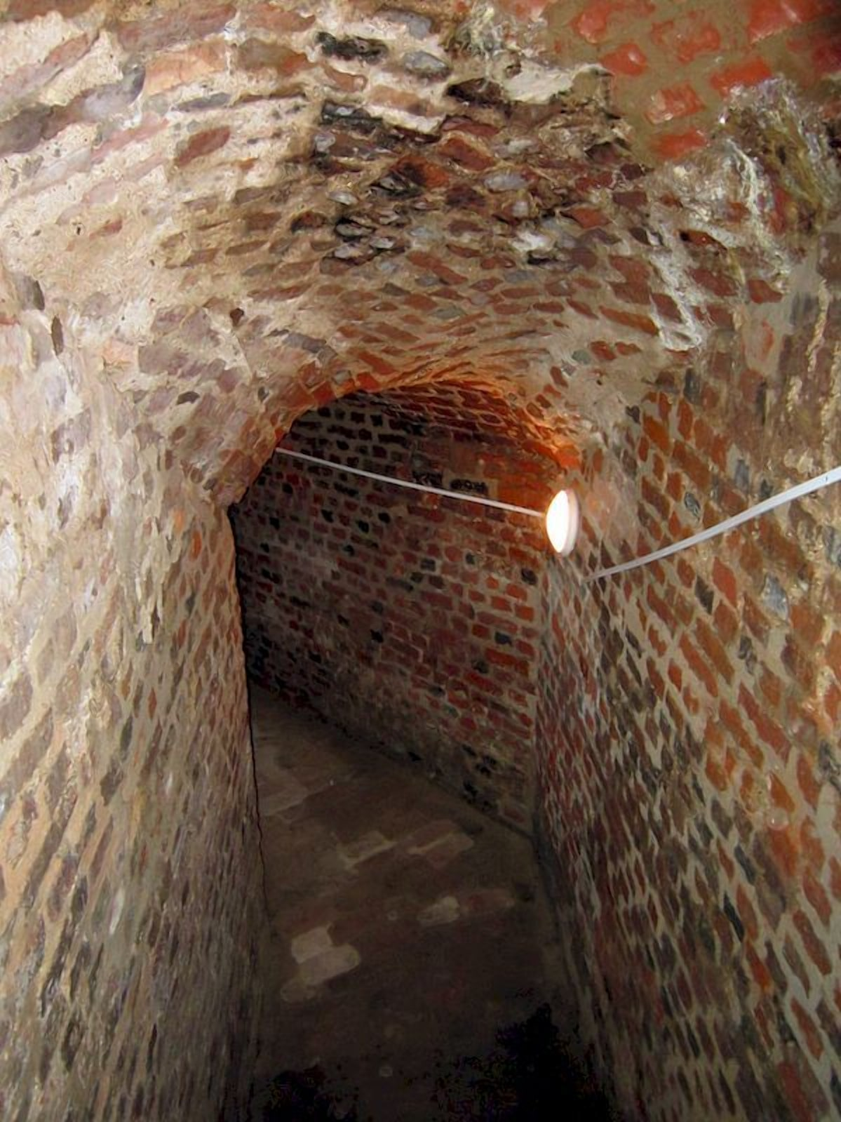 Подземелья несвижского замка