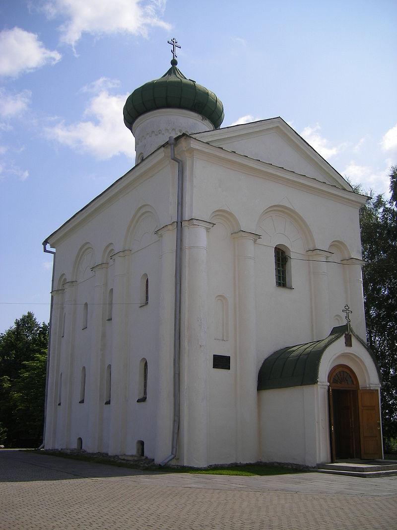 Спасопреображенская церковь в Полоцке