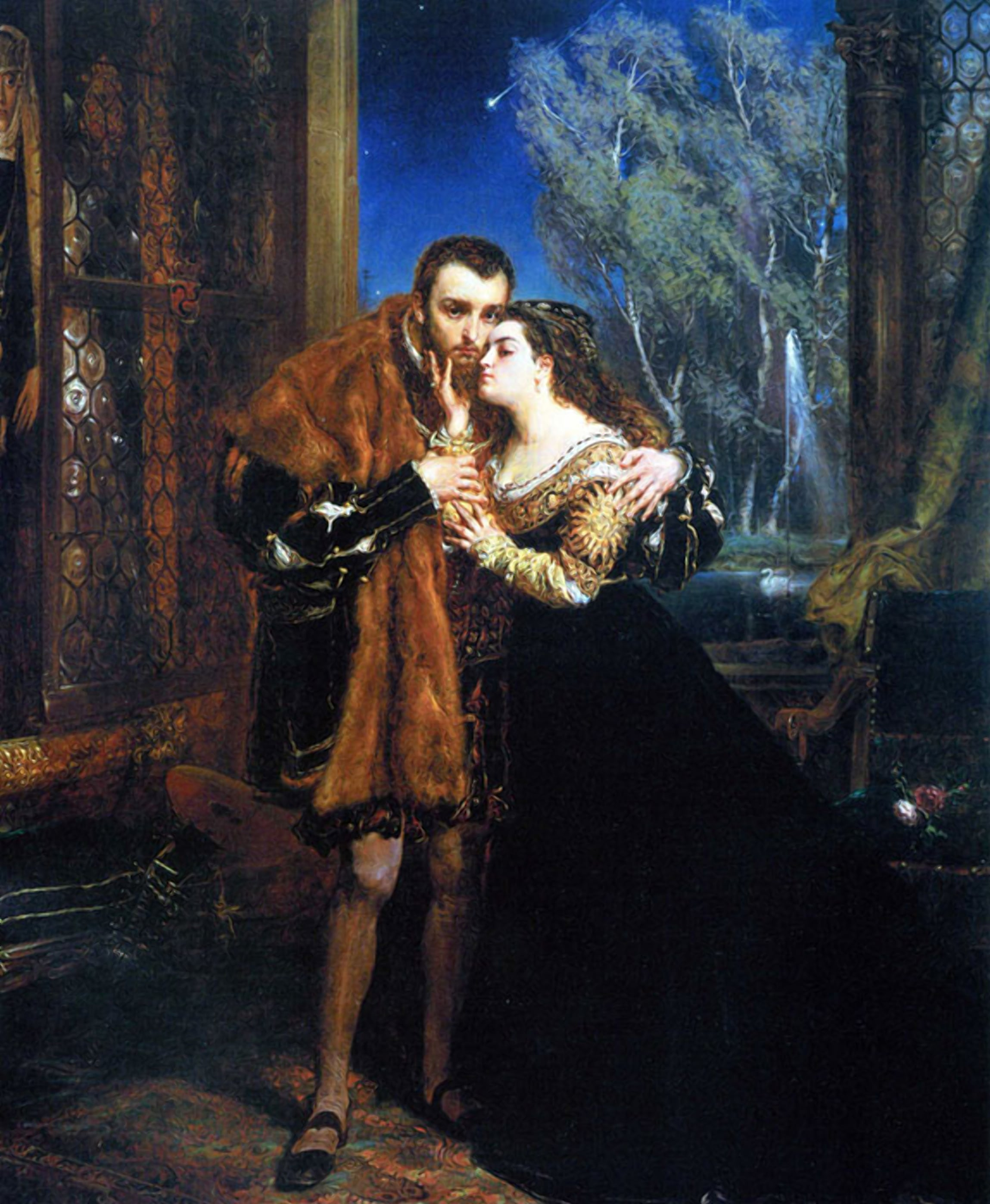 Барбара Радзивилл и Жигимонт II Август