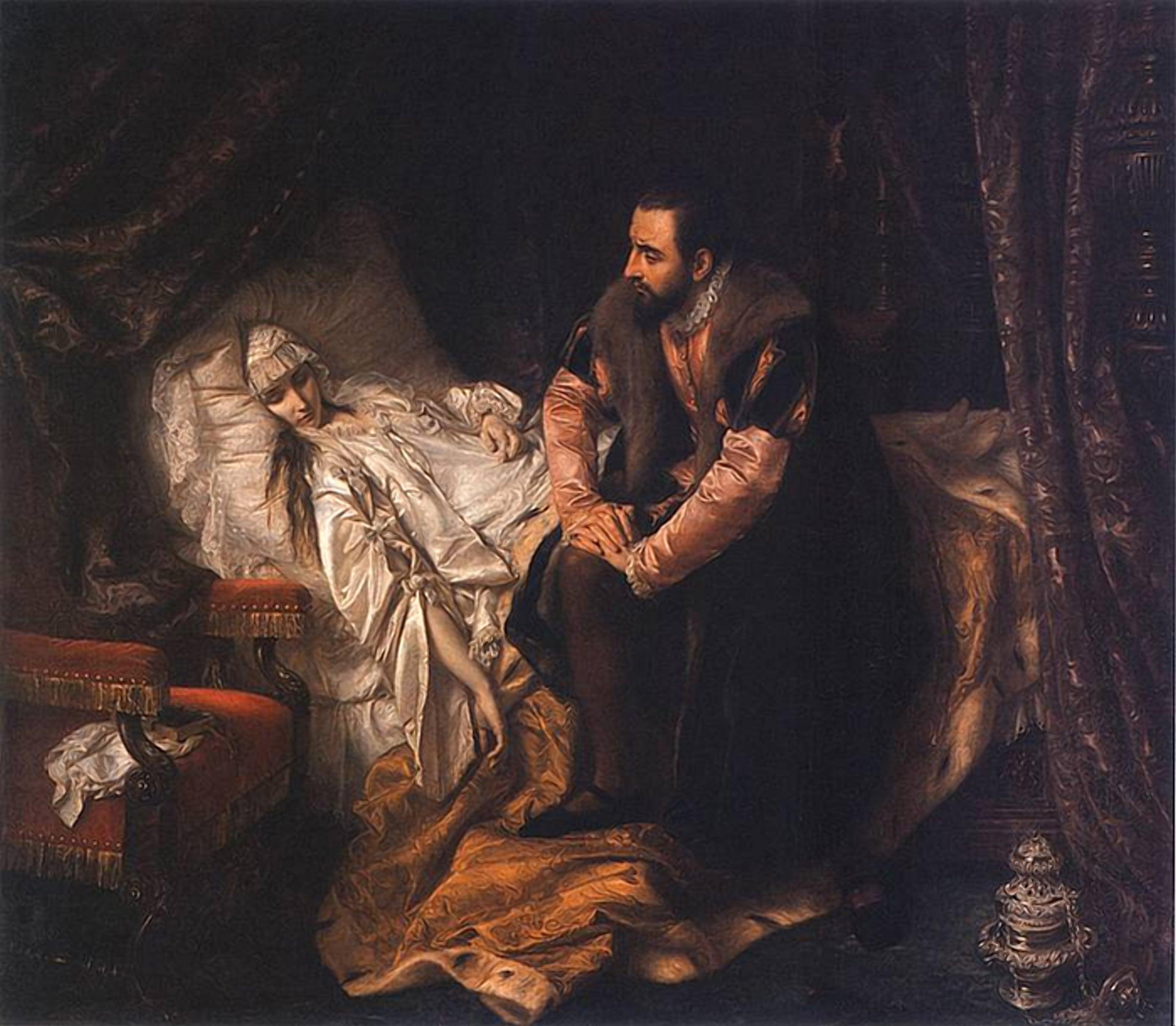 Смерть королевы Барбары Радзивилл