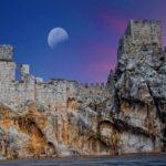Остатки крепости в Испании