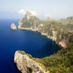 Скалистый берег Испании