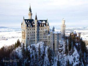 Зимний замок в Германии, общий вид