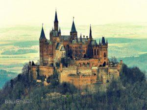 Замок в Германии, осень