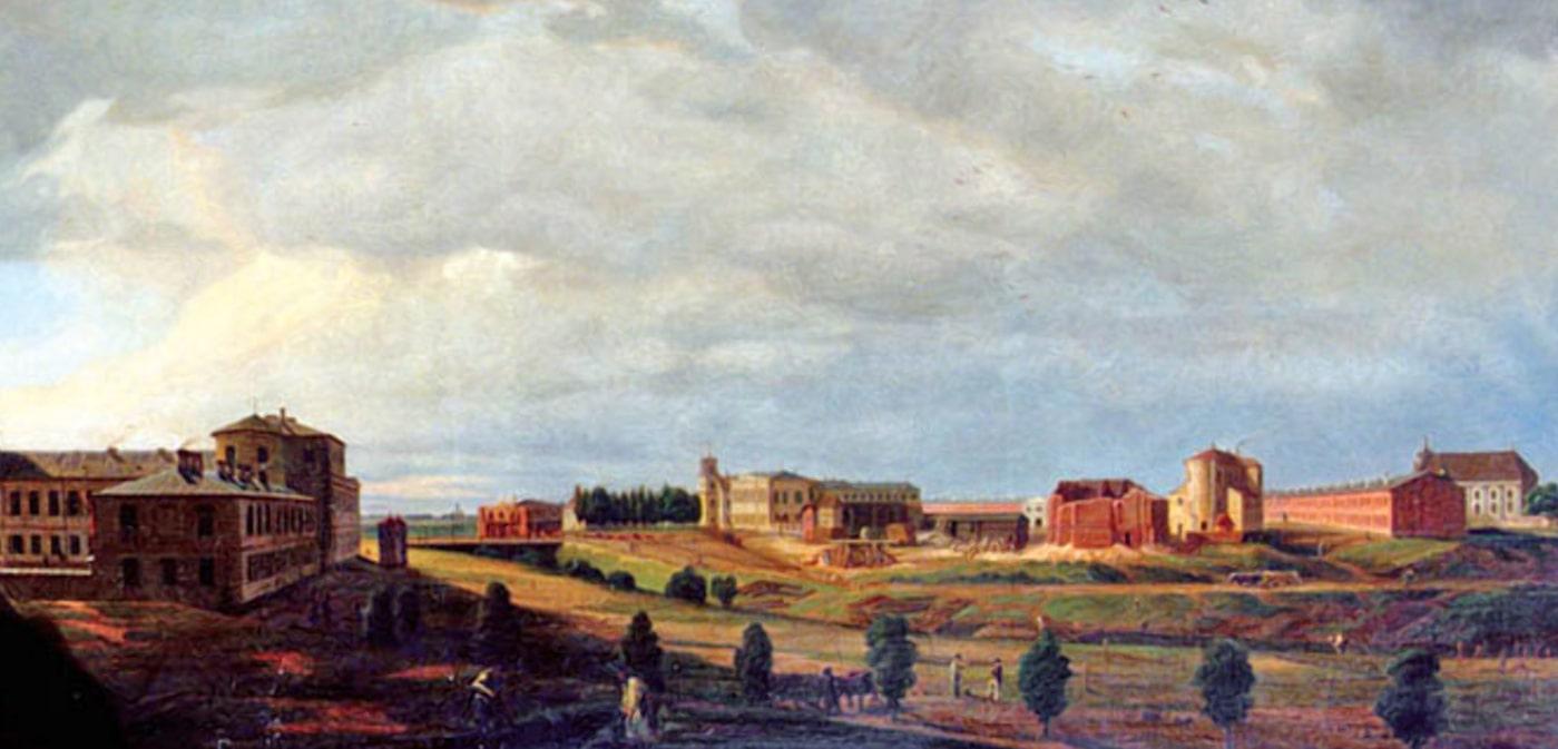 Брестская крепость в 1840 году