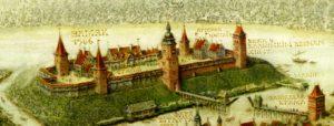 Брестский замок в 16 веке