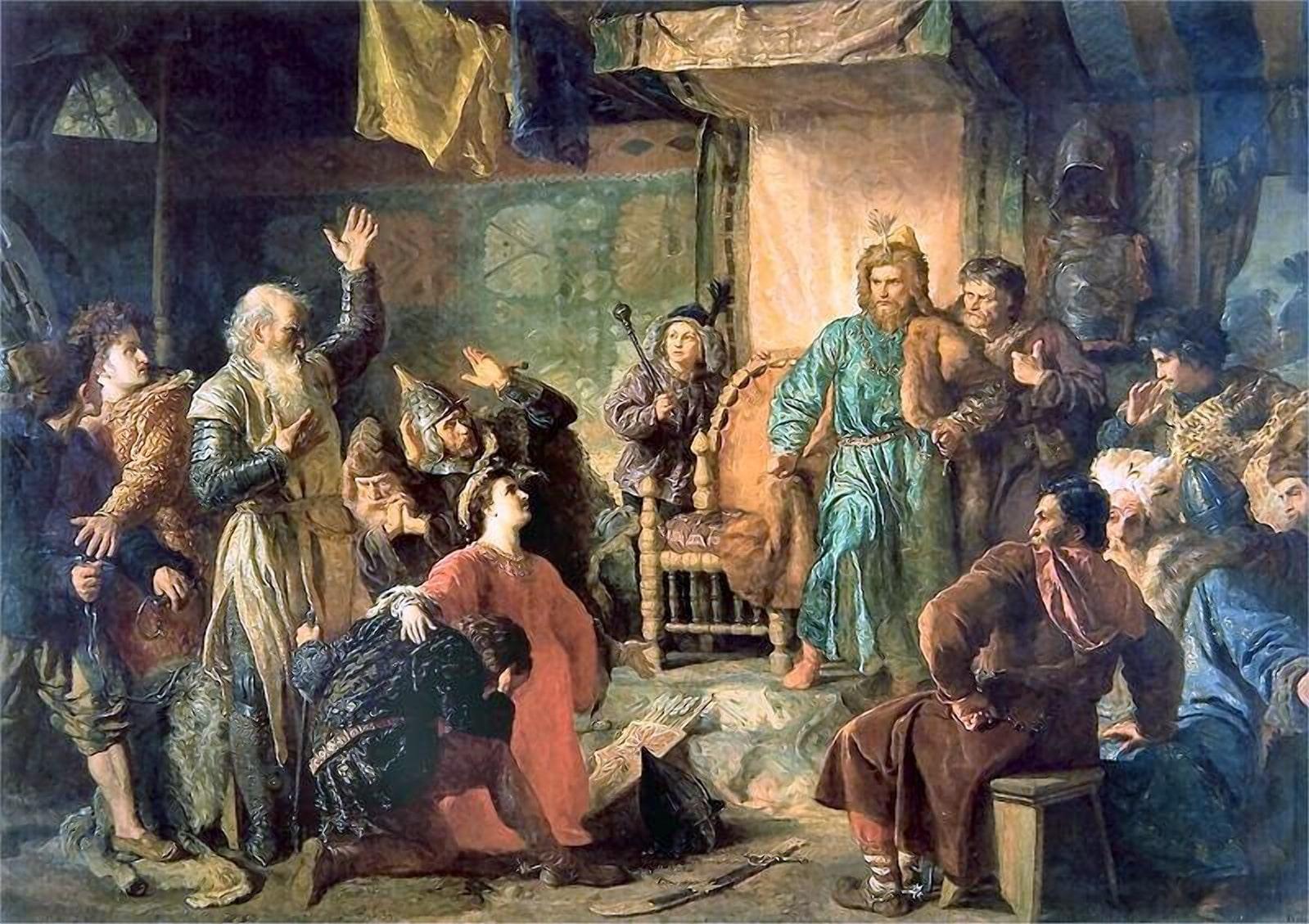 Витовт в плену у Ягайло
