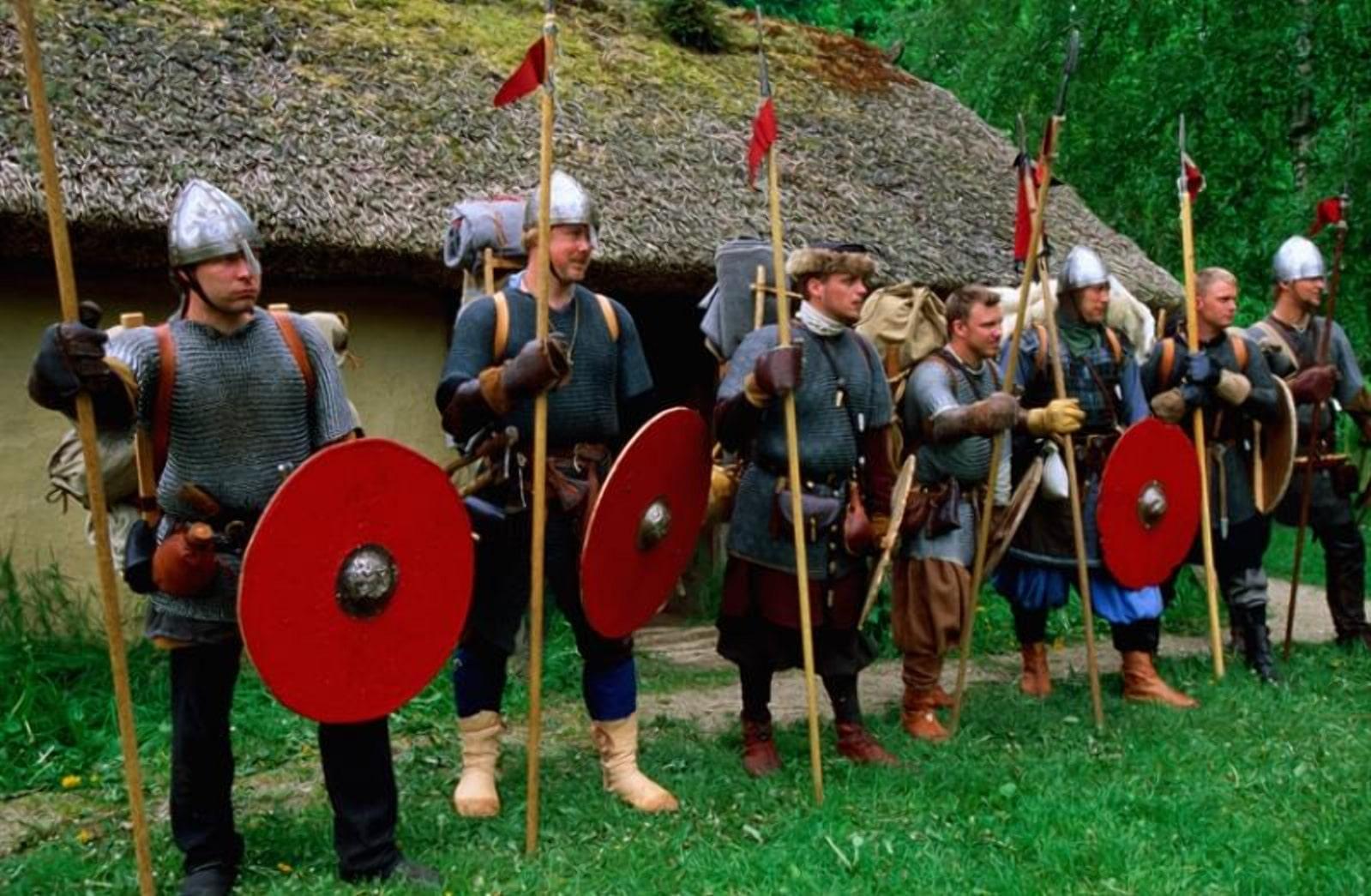 Дружина викингов реставраторы