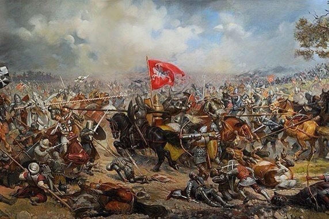 Конница Витовта атакует