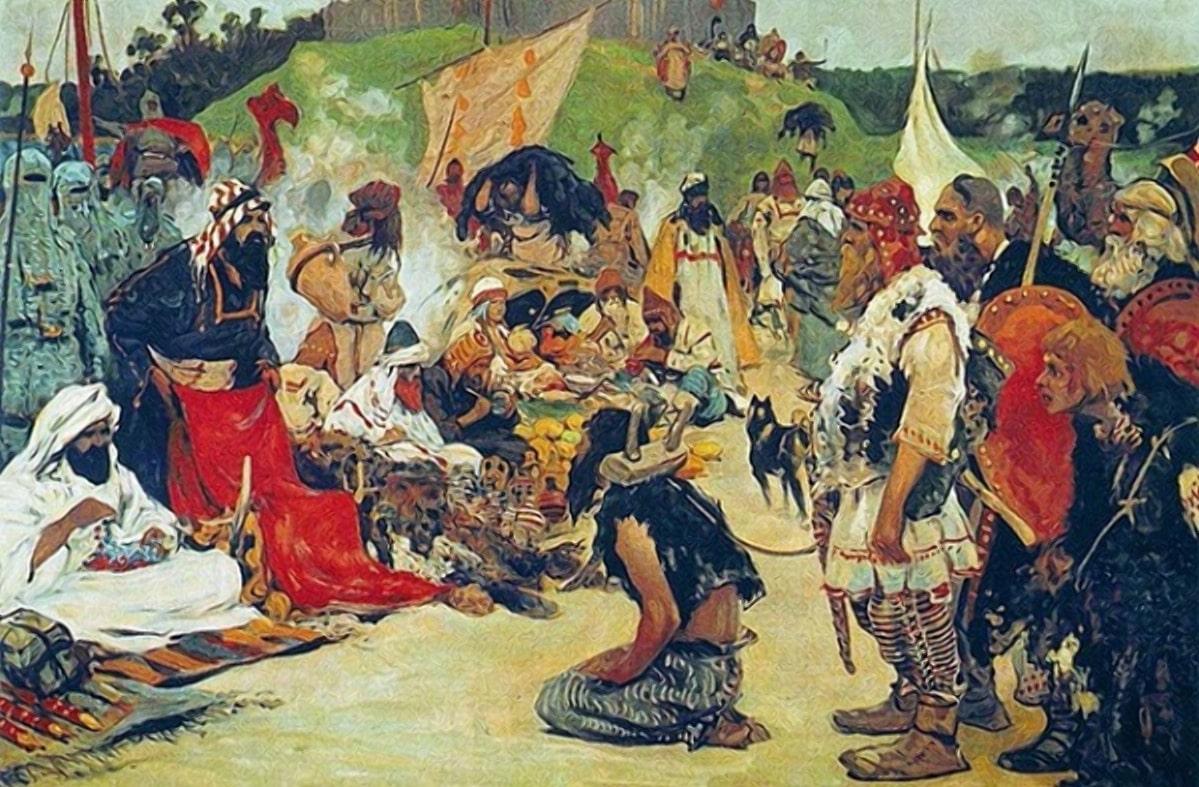 Торг на славянских землях