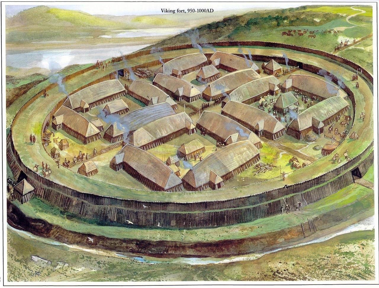 Форт викингов в Бресте реконструкция