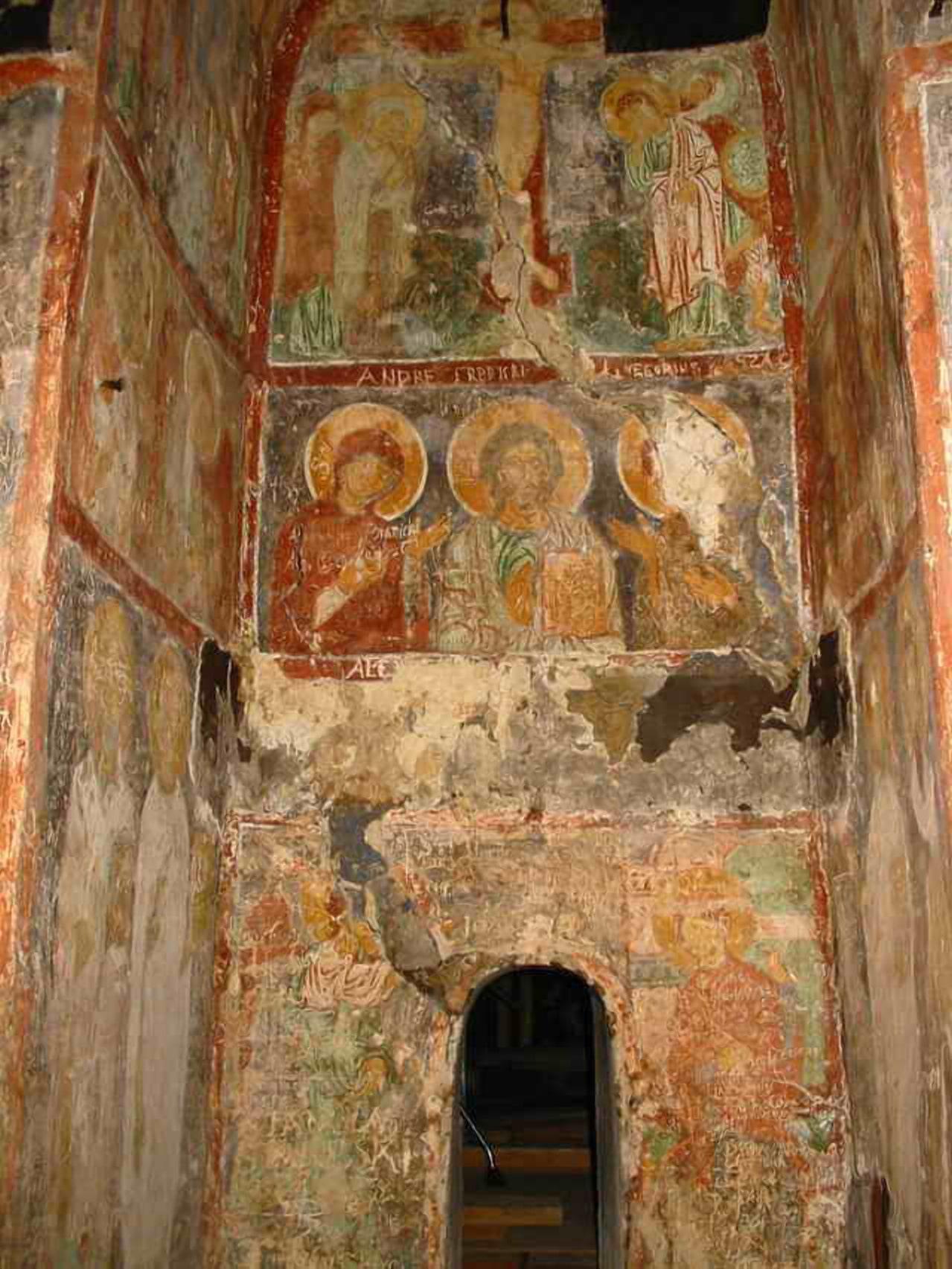 Фрески 12 века