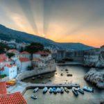 Рассвет в Хорватии