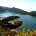 Горное озеро в Португалии