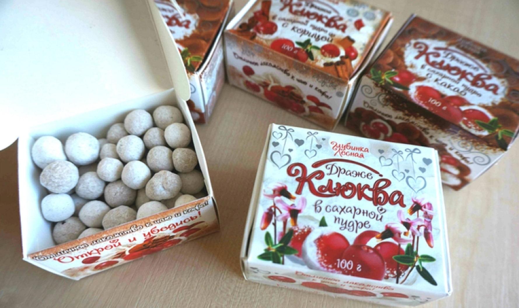 Белорусская клюква в сахаре