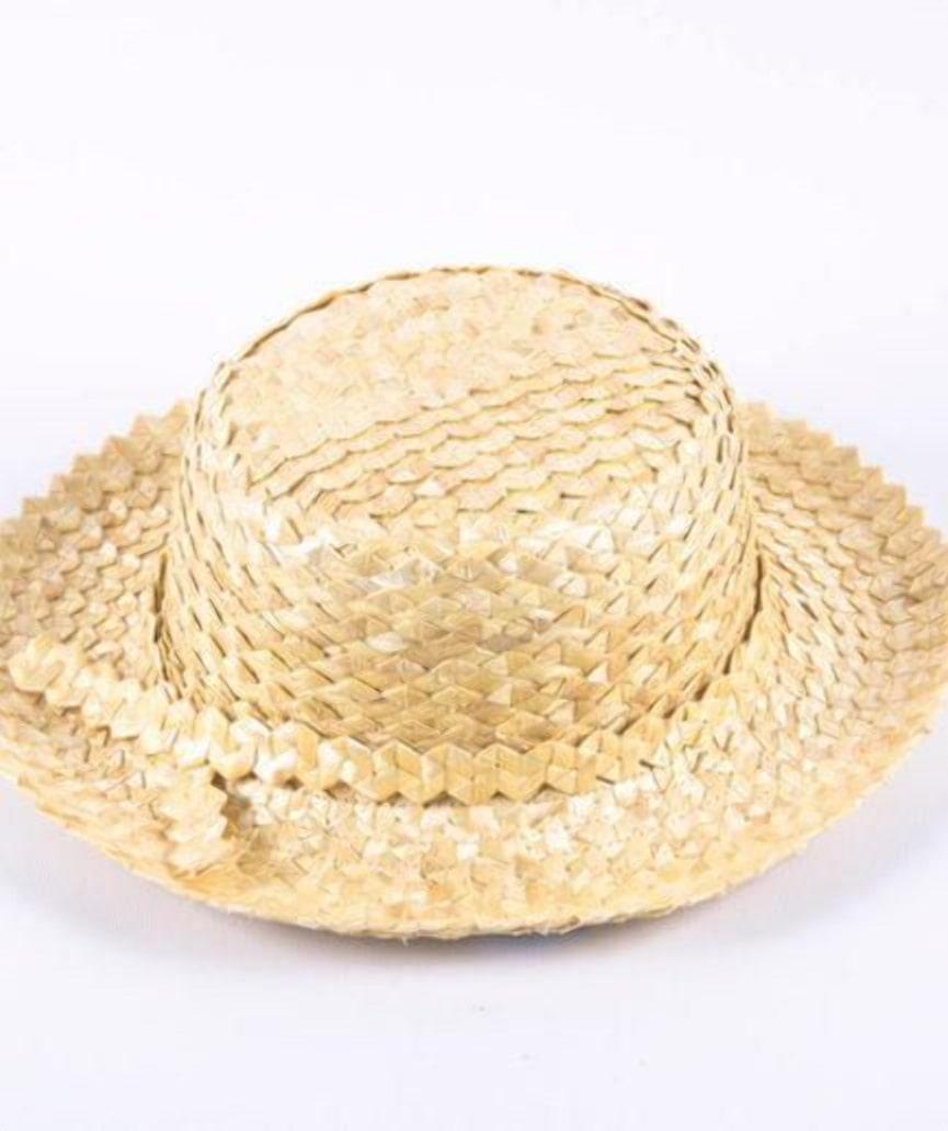 Белорусский капелюш (шляпа) из соломки