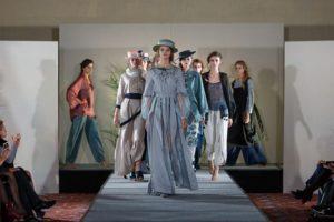 Дизайнерская одежда из льна Беларуси