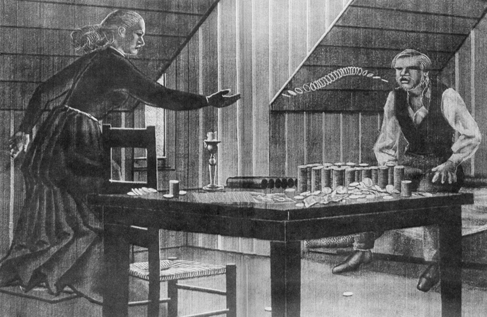 Достоевский игрок иллюстрация