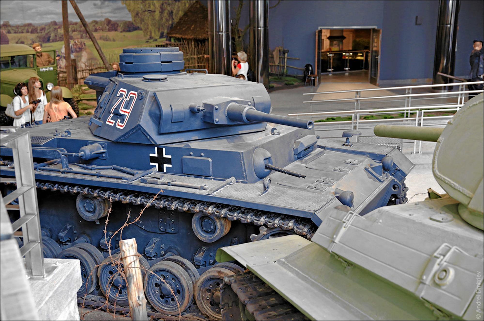 Инсталяция в музее ВОВ в Минске